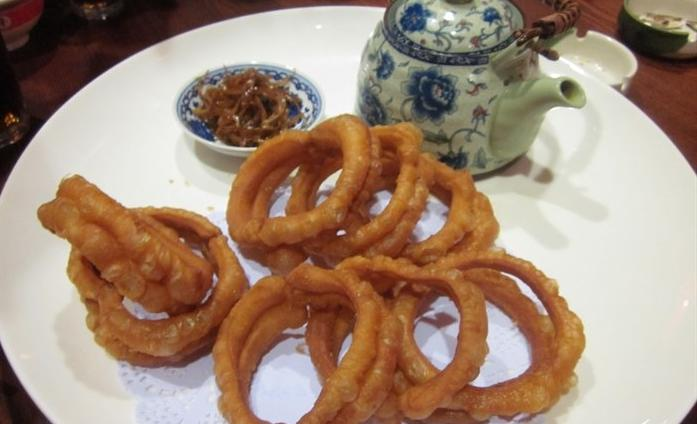 Beijing features snack: focus ring