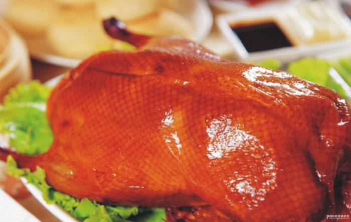 Beijing specialties: roast duck
