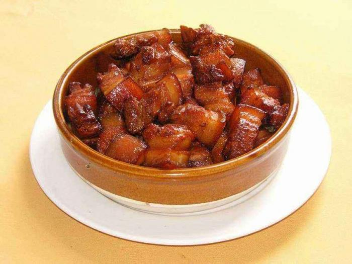 Guangzhou Conghua signature dishes braised pork Lvtian