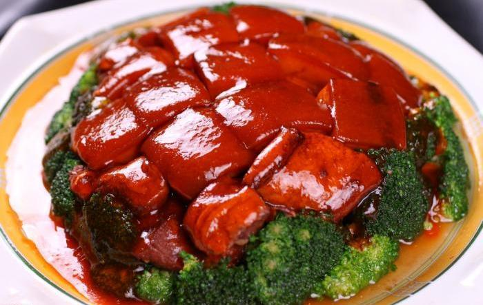 Changsha traditional dishes Braised Pork