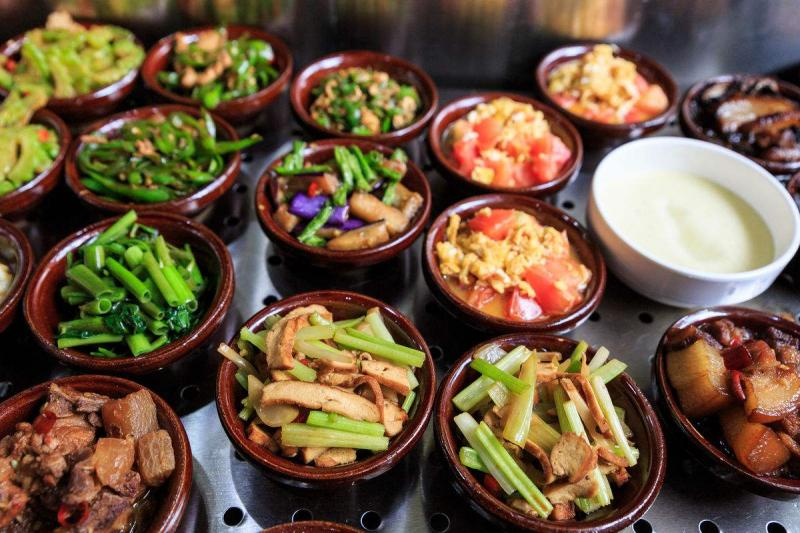 Changsha features snack Liuyang Steamed vegetables