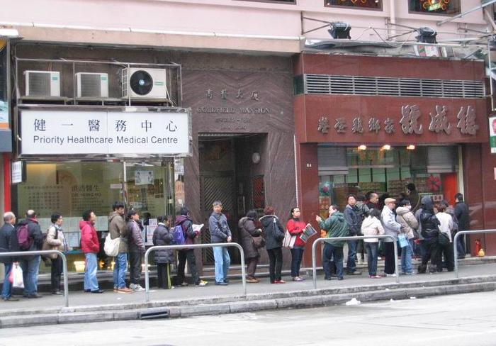 Hong Kong's unique queuing culture