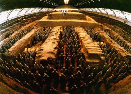 The world's eight wonders of the Terracotta Warriors and Horses of Qin · Puzzle