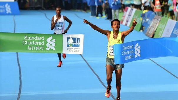 The largest outdoor competition in Hong Kong: standard chartered international marathon