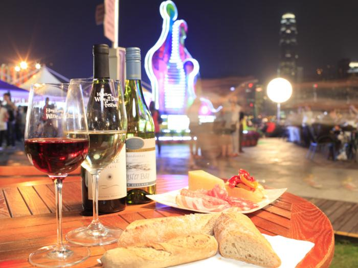 One of the top ten international food and wine festivals: wine and wine Tours in Hong Kong
