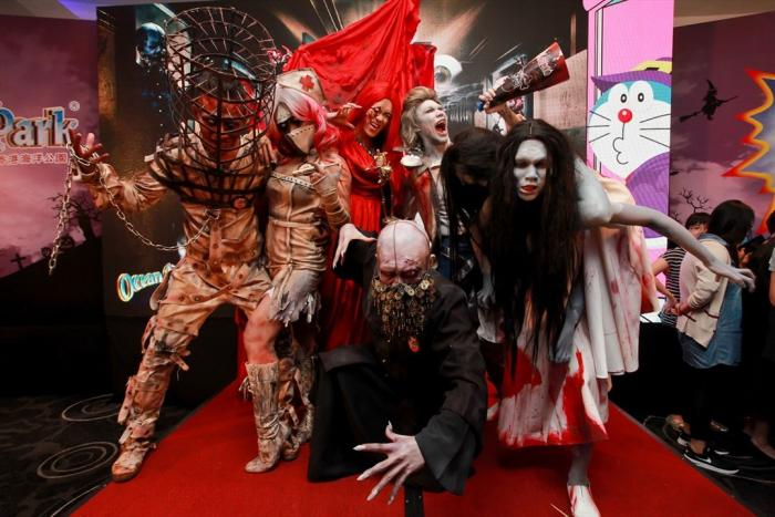 Weird and weird event: Hong Kong's Halloween carnival