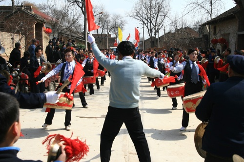 Xi'an Huxian folk activities in the first month