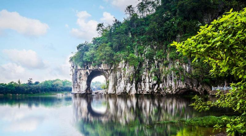 Guilin Elephant Trunk Hill Scenic Area