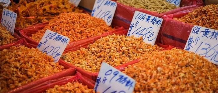 Hong Kong tourist souvenirs: Dried seafood