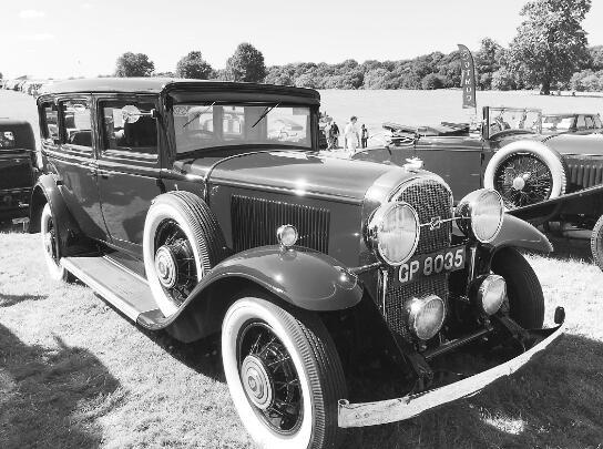 British Classic Car Show dazzling variety of classic cars as an important investment goods