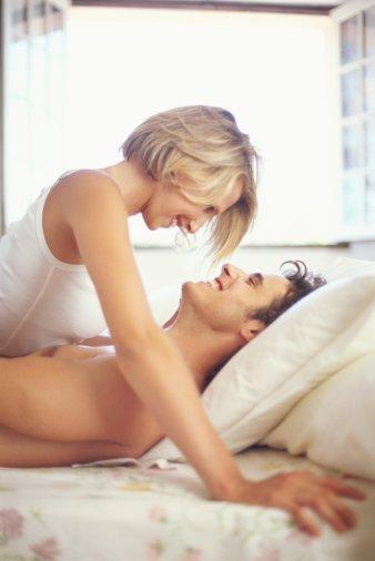What makes a woman struggling to cope with foreplay