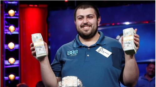 New Jersey man, 25, wins $8m at poker World Series