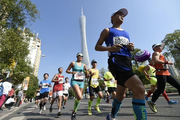 What are the suitable places for running in guangzhou? Guangzhou running route