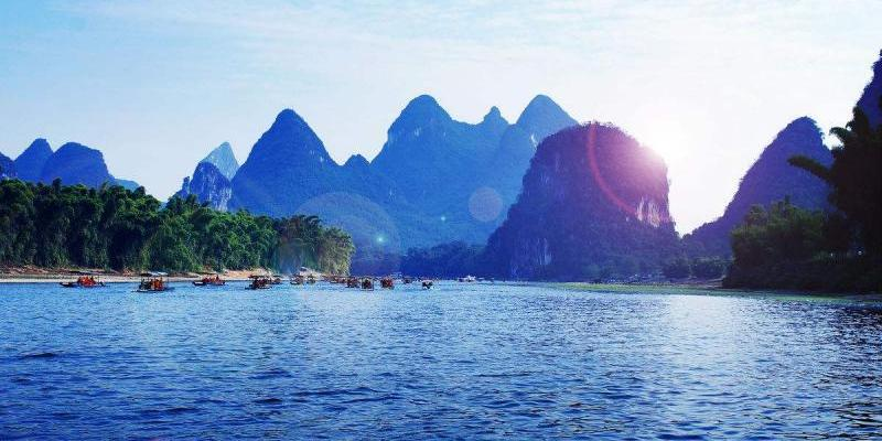 How to go to the Yangshuo tourist routes