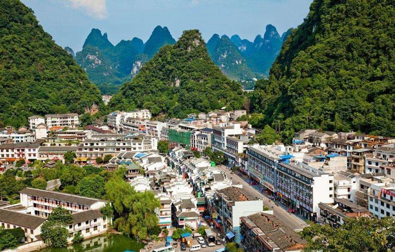The Lijiang River scenic spot and its strategy