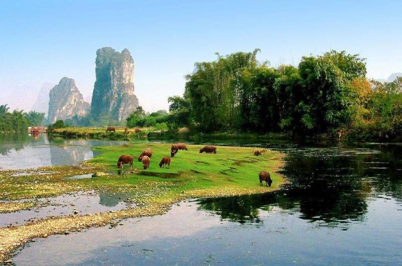 How to arrange the tourist route of Yangshuo, Yangshuo travel routes recommended